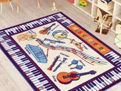 CONFETTI коврик в детскую133x190см. MUSIC ANTI-SLIP 01 БЕЖЕВЫЙ