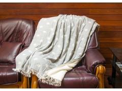 BARINE ПЛЕД 125x170 см. STARTHROW GREY