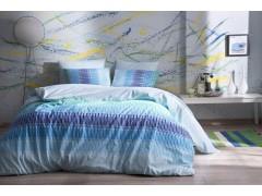 TAC TEEN Ранфорс постельное белье 1,5 размера JUAN V03TURKUAZ