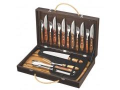 Кух.прибор TRAMONTINA Barbecue 17пр чемодан(нож,вил,щип,дост,ст.приб)цв.уп (21198/466)