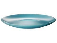 Тарелка IPEC FARGRIC бирюзов./21 см /десерт. (FDF-INT/СТ)